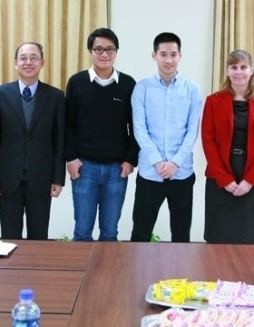 Students return from first ANU internship in Taiwan