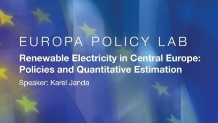 Europa Policy Lab - Renewable Electricity in Central Europe: Policies and Quantitative Estimation
