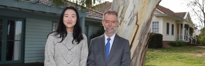 Key authors of the Trade in Services Briefing paper: ANUCES Visiting Fellows Sihui Ong and Steve Nerlich