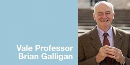 The ACF remembers Professor Brian Galligan, 1945-2019