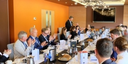 Professor Lo attends EABC Boardroom lunch with the Chief EU Negotiator