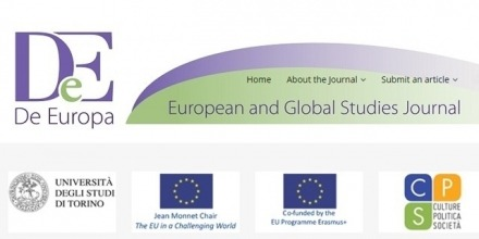 De Europa: European and Global Studies Journal - Call for Papers