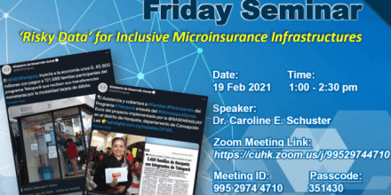 Dr. Caroline Schuster to present at this Friday's Seminar