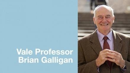The ACF remembers Professor Brian Galligan, 1945-2019