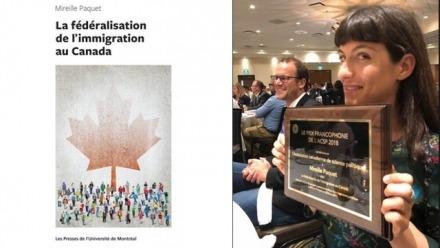 Former Visitor wins CPSA Prize