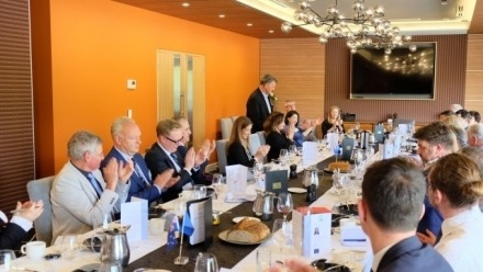 Professor Lo attends EABC Boardroom lunch with the Chief EU Negotiator
