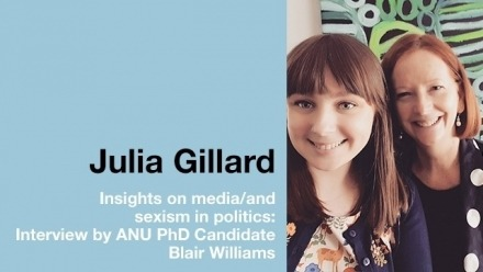 An interview with Julia Gillard