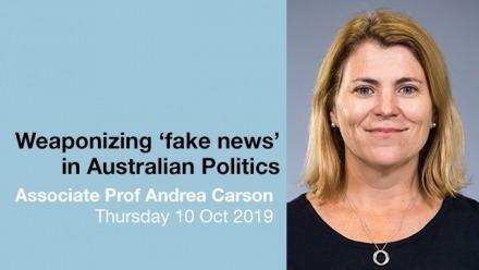 Weaponizing 'fake news' in Australian politics