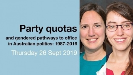 Party Quotas and Gender Differences in Pathways to Run for Office in Australia: 1987-2016