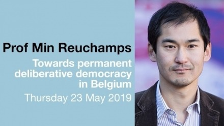 Min Reuchamps - Towards permanent deliberative democracy in Belgium