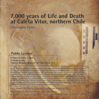 7,000 year Life and Death at Caleta Vitor, northern Chile